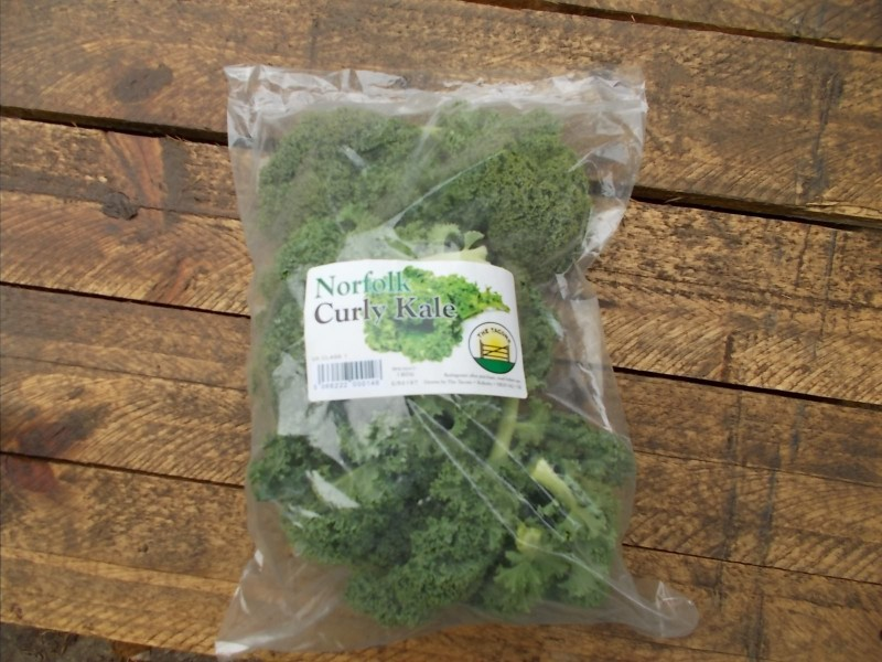 Kale from the farm shop